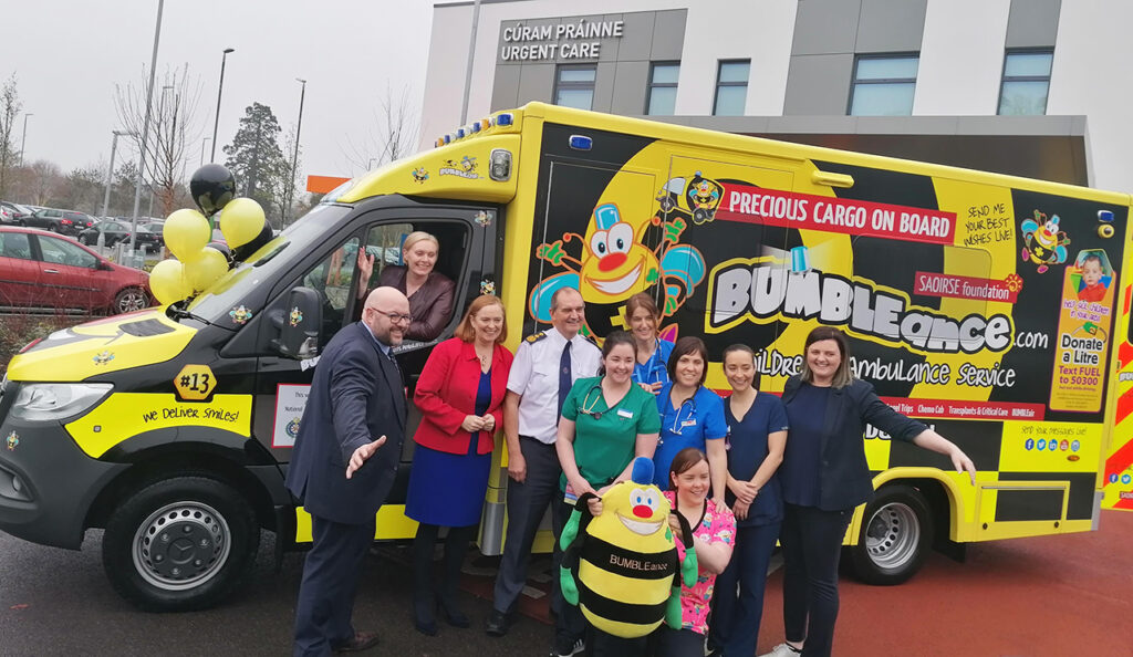 Acetech proud to support BUMBLEance
